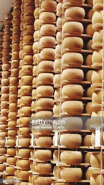 Interior Of Parmigiano Reggiano Warehouse
