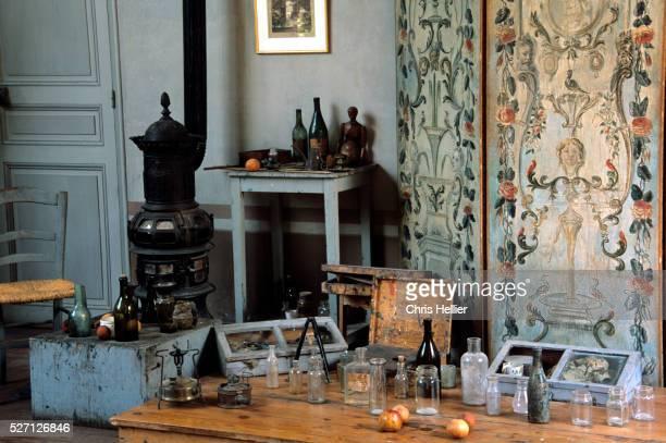 Interior of Paul Cezanne's Studio