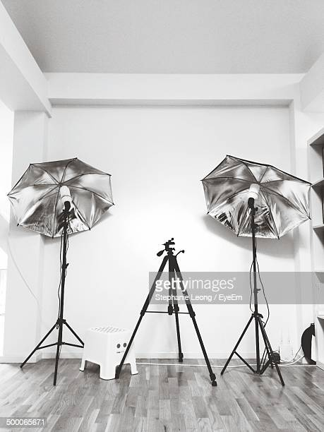Interior of photo studio