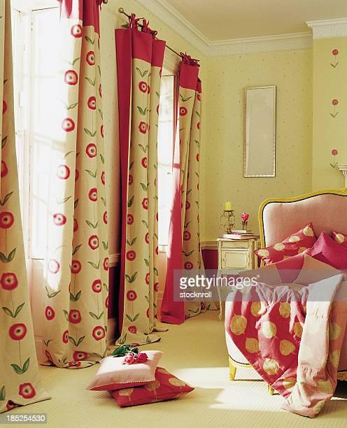Interior of pretty bedroom
