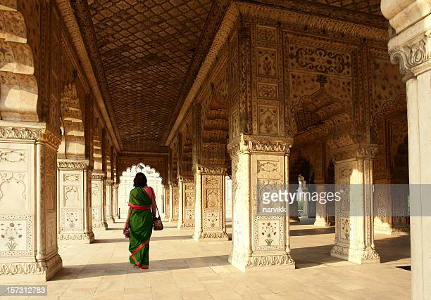 interior of red fort, delhi, india - delhi stock pictures, royalty-free photos & images