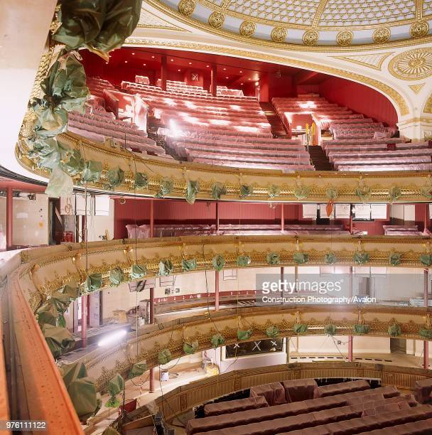 Interior of Royal Opera House Covent garden London United Kingdom