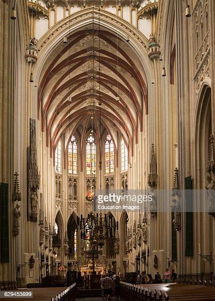 Interior of Saint John cathedral church 'sHertogenbosch Den Bosch North Brabant province Netherlands