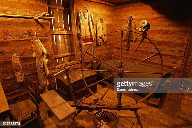 Interior of Sequoyah's Homesite