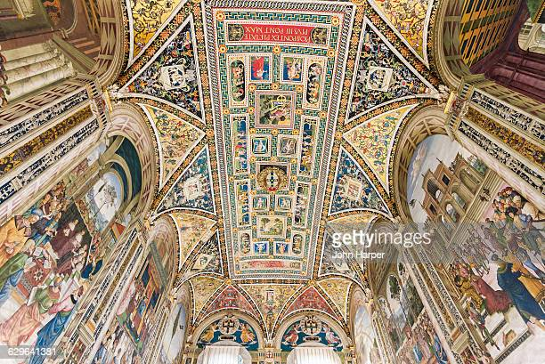Interior of Siena Cathedral, Siena, Italy