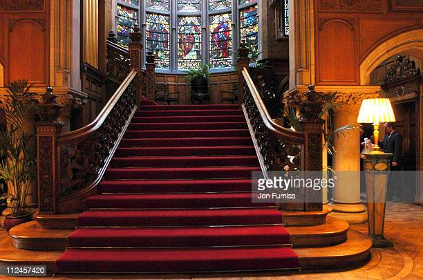 Interior of Skibo Castle during Skibo Castle The Scene Of Madonna And Guy Ritchie's Wedding Reception in Inverness Great Britain