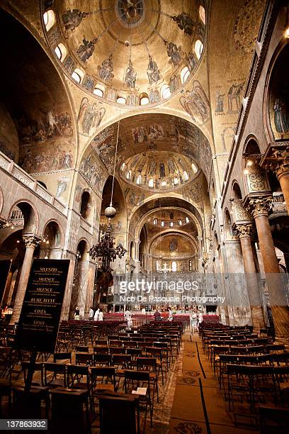 Interior of St. Marks basilica, Venice