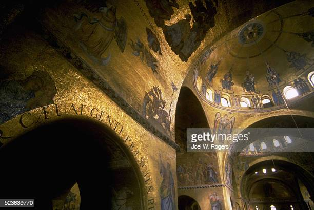 interior of st. mark's cathedral - faith rogers stock pictures, royalty-free photos & images