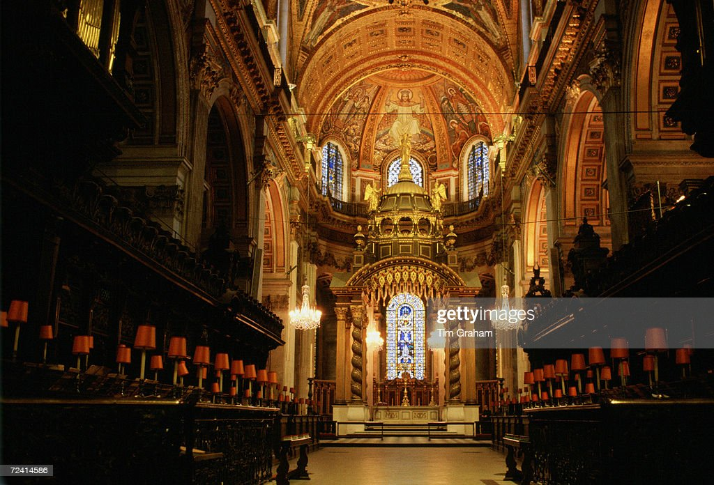 St. Paul's Cathedral, London, UK : News Photo