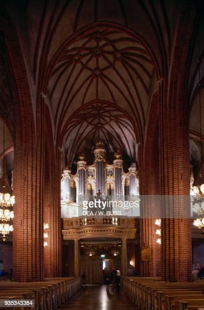 Interior of Stockholm Cathedral dedicated to St Nicholas Stockholm Sweden