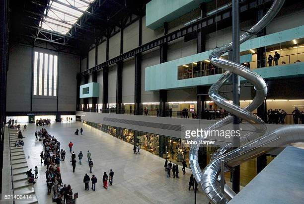 Interior of Tate Modern