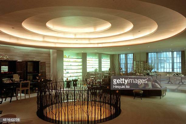 Interior of the 8th floor of the Japanese upscale department store Takashimaya at 693 5th Avenue on July 21 2000Takashimaya New York went out of...