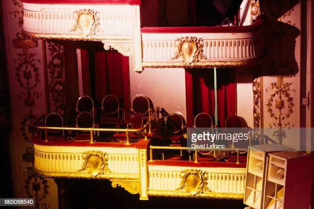 Interior of the Apollo Theater in Harlem