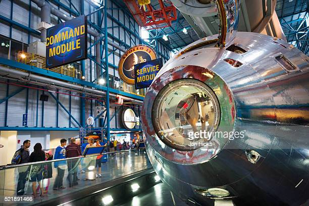 interior of the apollo/saturn v center. - nasa stock pictures, royalty-free photos & images
