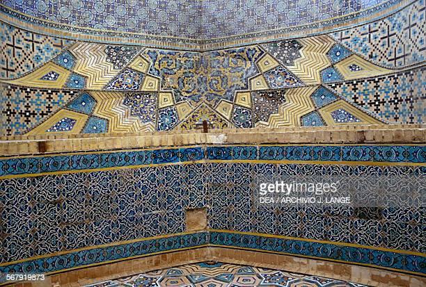 Interior of the Boq'eh-ze Khajeh Rabi, Mashhad. Iran, 17th century.