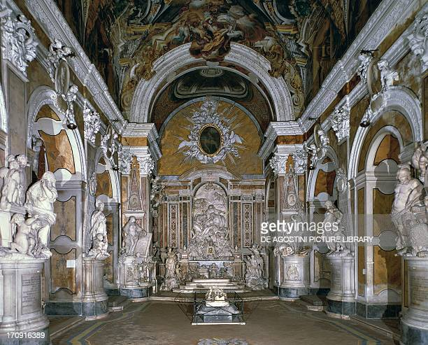 Interior of the chapel Sansevero dei Sangro, 1749-1766, Naples, Campania, Italy.