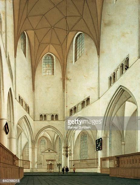 Interior of the Choir of St. Bavo, Haarlem by Pieter Saenredam