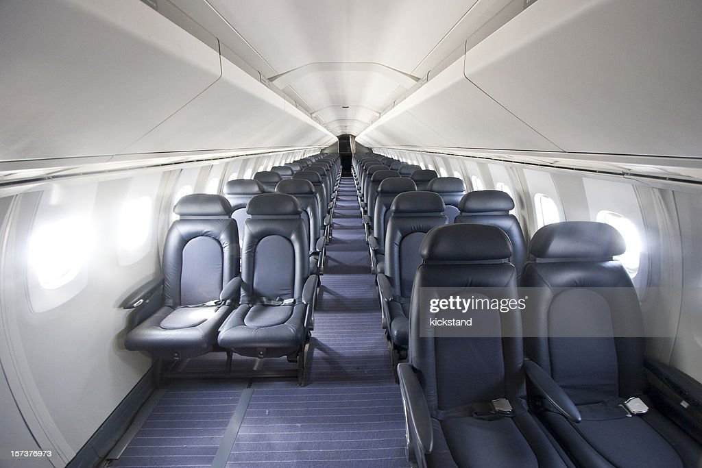 Interior Of The Concorde : Stock Photo