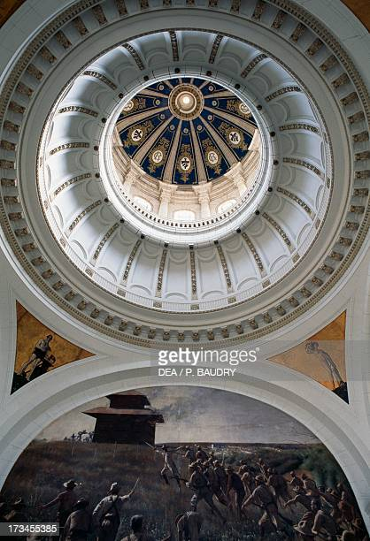 Interior of the cupola Museum of the Revolution the former Presidential Palace designed by Carlos Maruri and Paul Belau Havana Cuba
