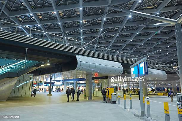 Interior of the Den Haag Centraal railway station