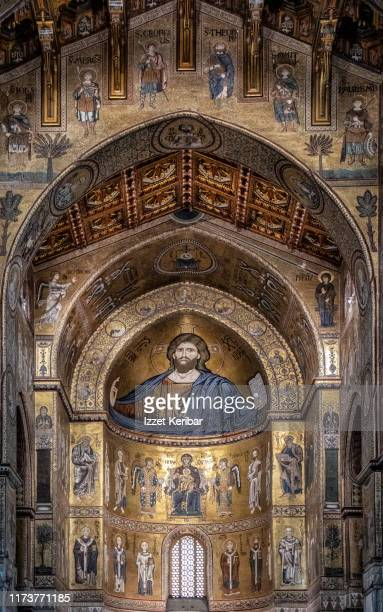 monreale cathedral interior famed for its