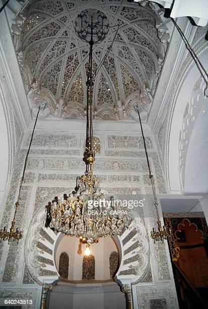 Interior of the Great Mosque in Tlemcen Algeria