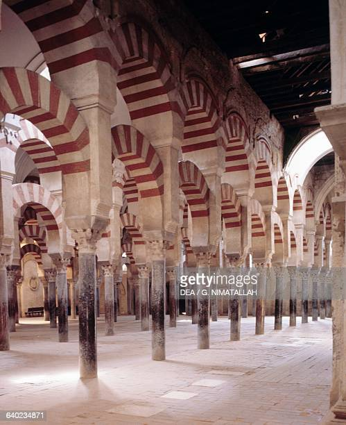 Interior of the Great Mosque of Cordoba now St Mary's Cathedral Andalucia Spain 8th16th century