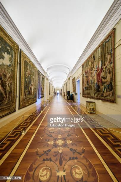 Interior of the Hermitage Winter Palace, St Petersburg, Russia.