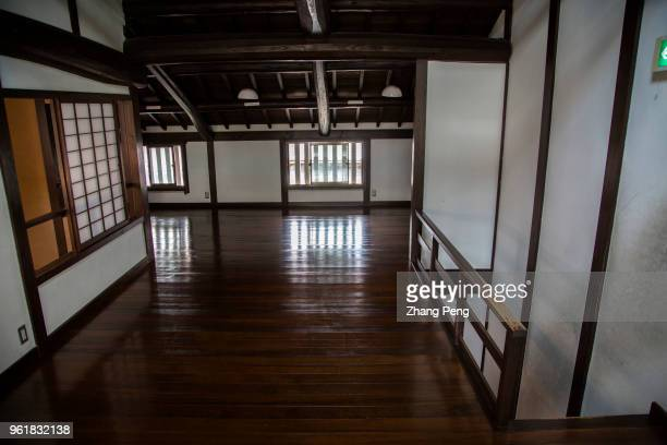 Interior of the house also known as 'machiya' is the landmark building and tourist attraction of Nara old street which reproduces Nara's traditional...