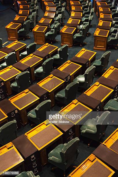 interior of the house of representatives - house of representatives stock pictures, royalty-free photos & images