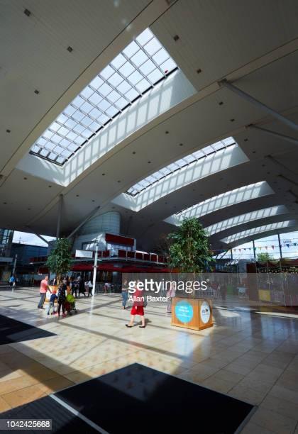 Interior of the Milton Keynes Shopping area