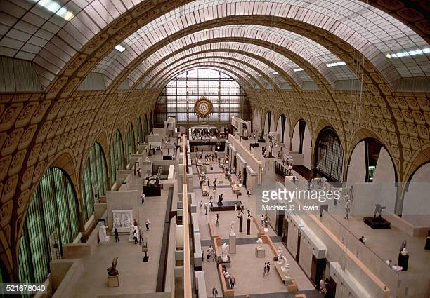 Interior of the Musee D'Orsay