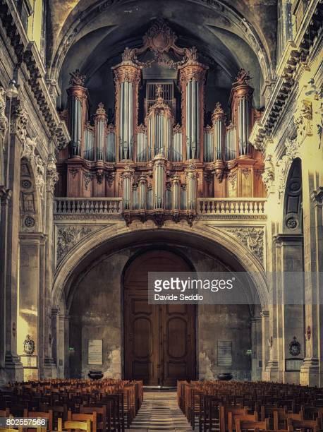 Interior of the Nancy cathedral 'Notre Dame de l'Annonciation'