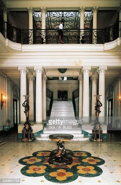 Interior of the National Museum of Decorative Arts former residence of Contessa di Revilla de Camargo Maria Luisa Gomez Mena viuda de Cagiga El...