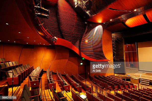 Interior of the new 500seat Bram Goldsmith Theater at The Wallis Annenberg Center for the Performing Arts located on a 25acre site at the...