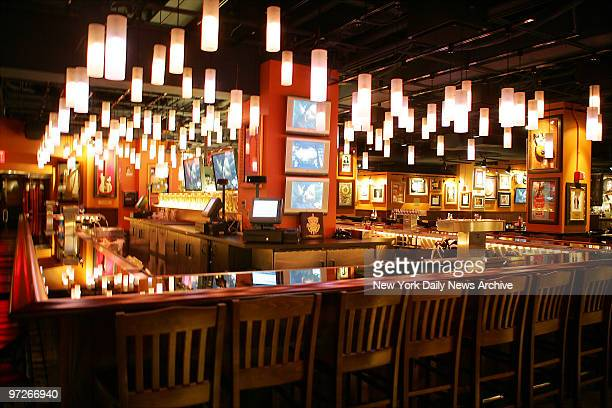 Interior of the new Hard Rock Cafe on the corner of Seventh Ave and 43rd St in Times Square