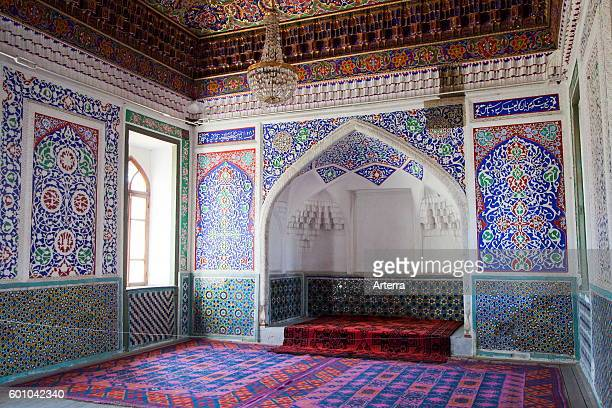 Interior of the Palace of Khudoyar Khan / Khudayar Khan's Palace Kokand Fergana Province Uzbekistan