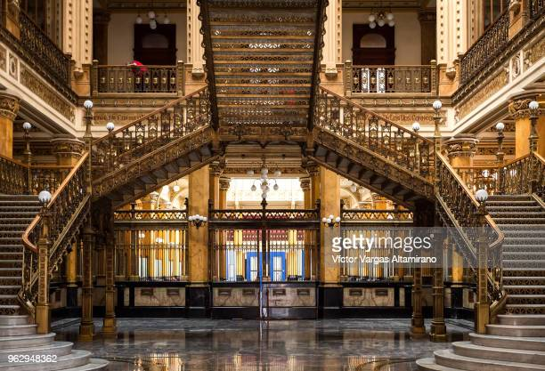 Interior of the Postal Palace in Mexico City.