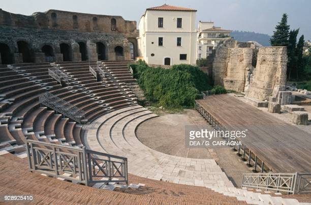 Interior of the Roman theater of Benevento Campania Italy 2nd century