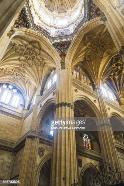 Interior of the Salamanca's cathedral