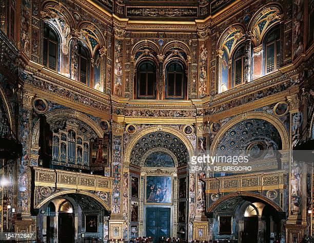 Interior of the Sanctuary Of The Incoronata Lodi by Giovanni di Domenico Battagio known as Giovanni da Lodi Italy 15th16th centuries