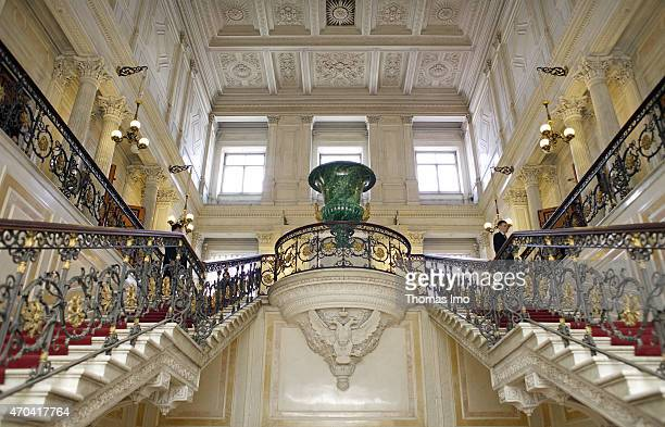 Interior of the State Hermitage Museum on May 16 2008 in Saint Petersburg Russia The Hermitage Museum is a museum of art and culture and is one of...