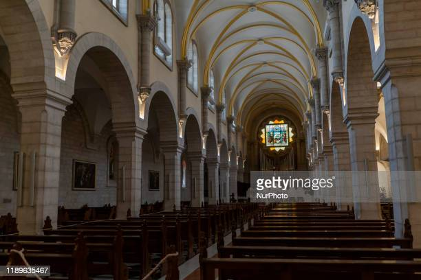 Interior of the Temple of Santa Catalina or simply Chapel of Santa Catalina is a religious building that is affiliated with the Catholic Church and...