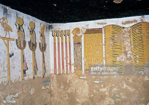 Interior of the Tomb of Ramesses III also known as KV11 Valley of the Kings Thebes Egyptian Civilisation Middle Kingdom Dynasty XIX