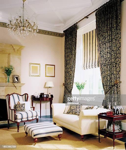 Interior of traditional Livingroom