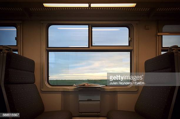 interior of train - belgium stock pictures, royalty-free photos & images