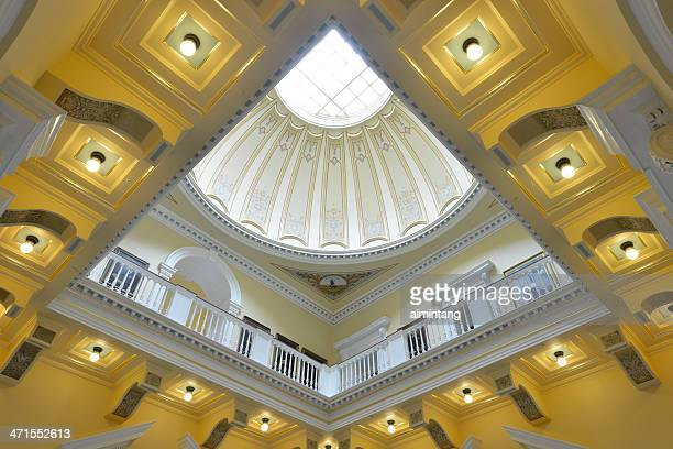 interior of virginia state capitol - virginia state capitol stock pictures, royalty-free photos & images