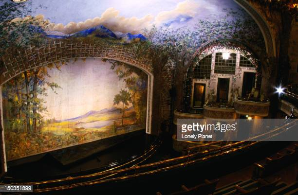 Interior of Winter Garden Theatre.
