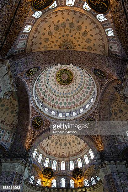 Interior of Yeni Cami or New Mosque
