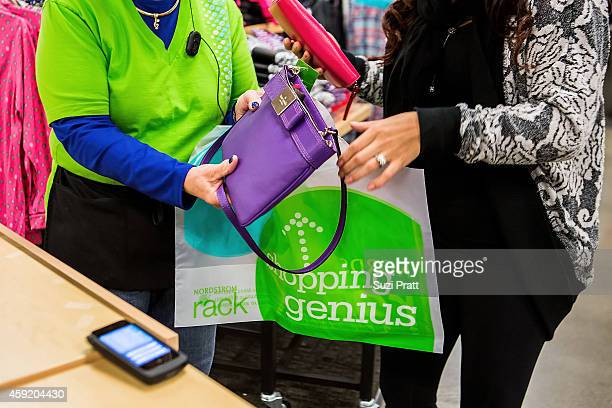 Interior photos of Nordstrom Rack in downtown Seattle on November 12 2014 in Seattle Washington